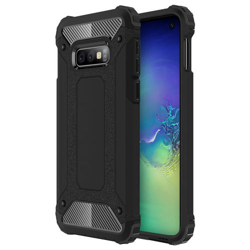 Military Defender Shockproof Case for Samsung Galaxy S10e - Black